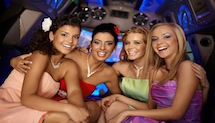 Bachelor Party limousine Raleigh