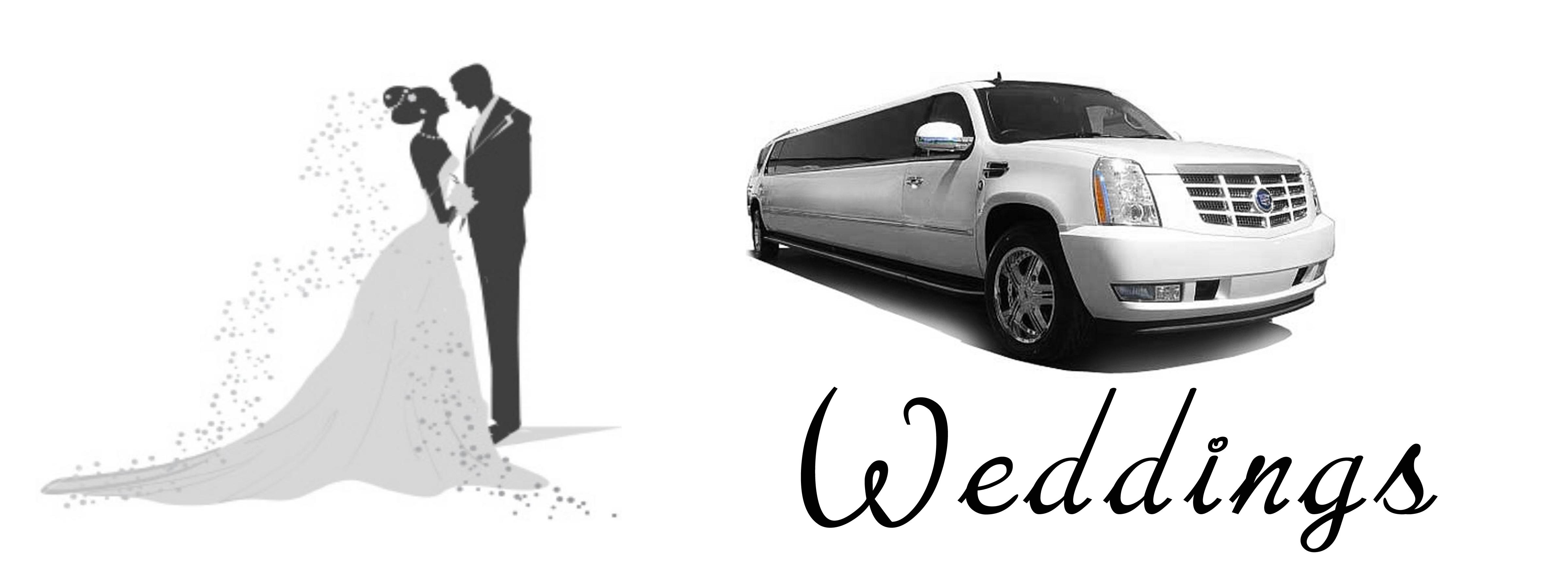 Wedding limousine Raleigh