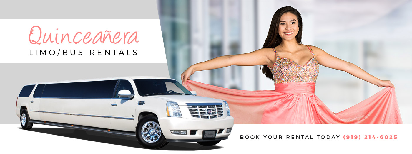 Raleigh Quinceanera Limousines