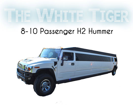 The White Tiger Hummer limo