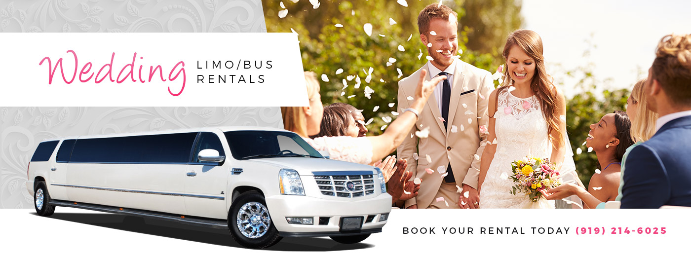 Wedding limousine Raleigh